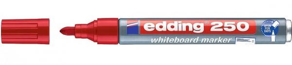 Edding 250 Whiteboardmarker rot
