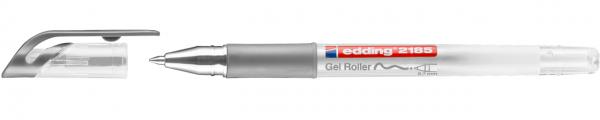 Edding 2185 Gel Roller silber