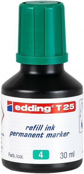 Edding T25 Permanentmarkertusche grün 30ml