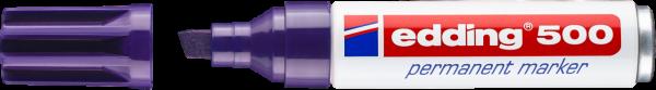 Edding 500 Permanentmarker violett 2-7mm