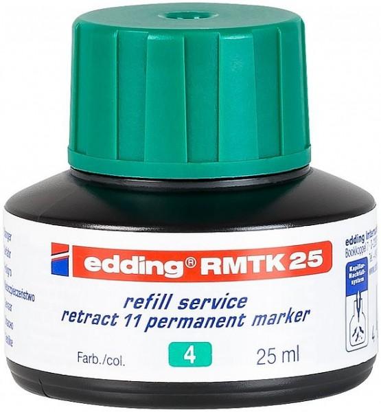 Edding RMTK 25 refill s. retract 11 grün