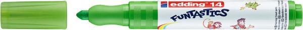 Edding 14 Funtastics Fasermaler hellgrün