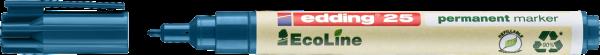 Edding 25 EcoLine Permanentmarker blau