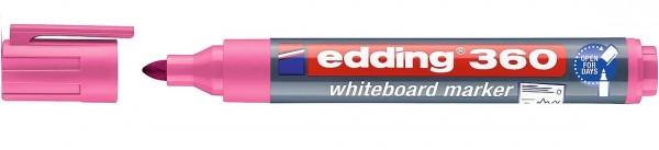 Edding 360 Whiteboardmarker A8 rosa