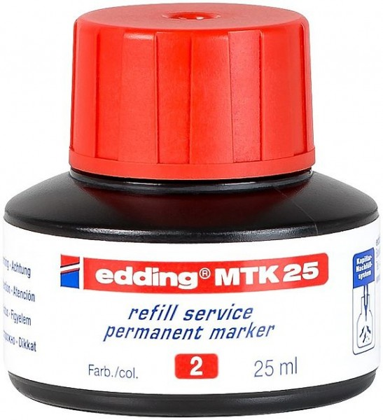 Edding MTK 25 Nachfülltinte rot
