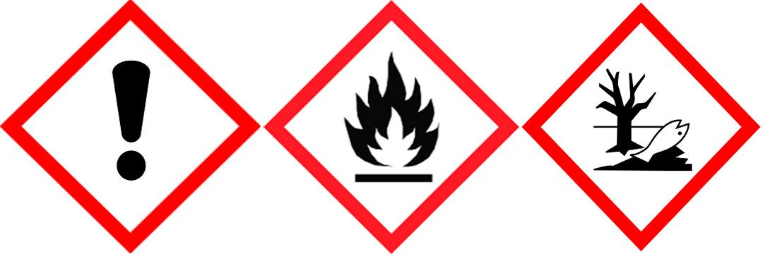 Achtung-Entflammbar-Umwelt