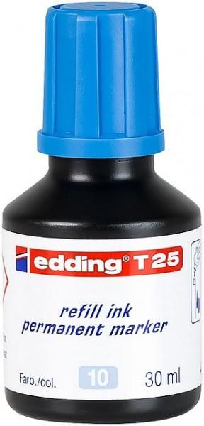 Edding T25 Permanentmarkertusche hellblau 30ml