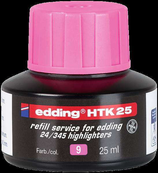 Edding HTK 25 Nachfülltinte Textmarker rosa