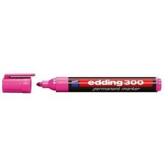 Edding 300 permanent marker A8 rosa
