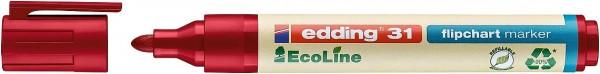 Edding 31 Ecoline flipchart marker rot
