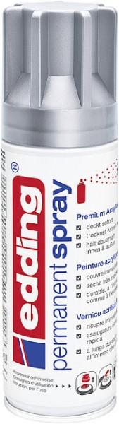 Edding Permanent-Spray 5200 silber seidenmatt 200ml