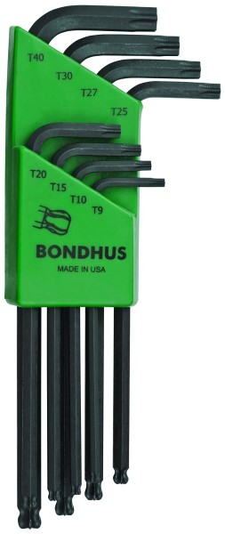 Bondhus Ballstar Torx Winkelschlüssel-Satz 8-teilig