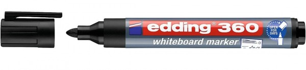 Edding 360 Whiteboardmarker A8 schwarz