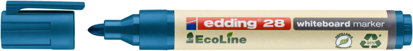 Edding 28 EcoLine Whiteboardmarker blau