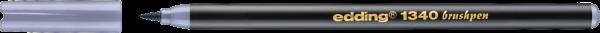 Edding 1340 Pinselstift silbergrau