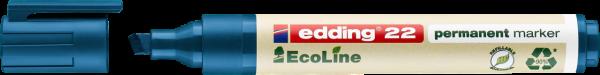 Edding 22 EcoLine Permanentmarker blau