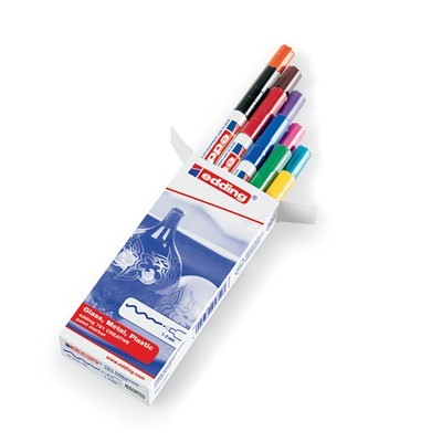 Edding 751/10 S CR paintmarker Set