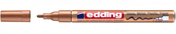 Edding 751 Lackmalstift 055 Kupfer 1-2mm