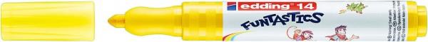 Edding 14 Funtastics Fasermaler gelb