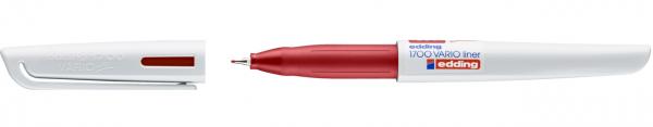 Edding 1700 Vario Fineliner rot