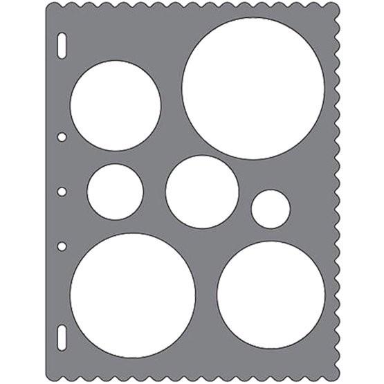 Fiskars ShapeCutter Schablone- Kreise