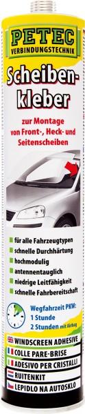 Petec Scheibenkleber Kartusche 310ml, inkl. Düse