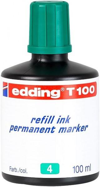 Edding T100 refill ink perm. marker grün