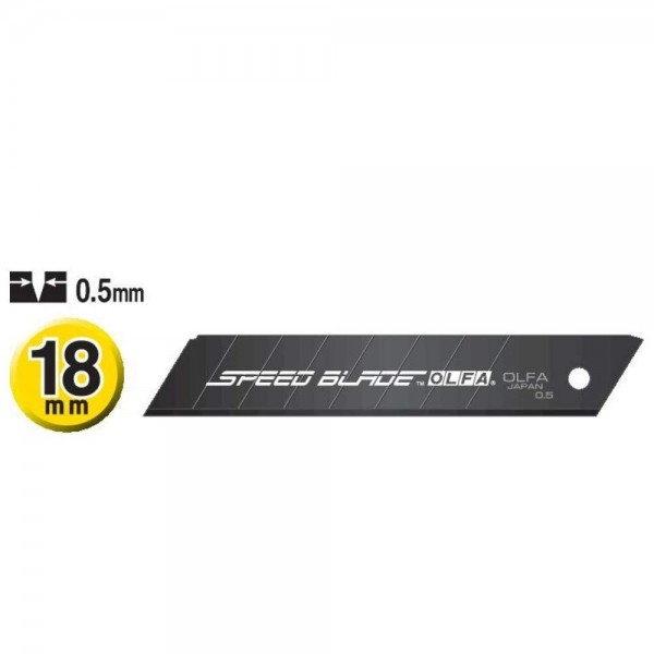 OLFA Klinge LFB-5B ultrascharf und ultraschnell 18mm