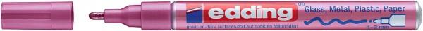 Edding 751 Lackmalstift Creative pink metallic