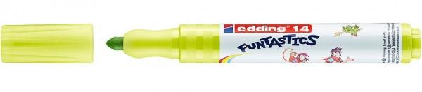Edding 14 Funtastics Fasermaler gelbgrün