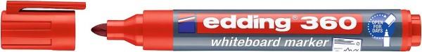 Edding 360 Whiteboardmarker A8 rot