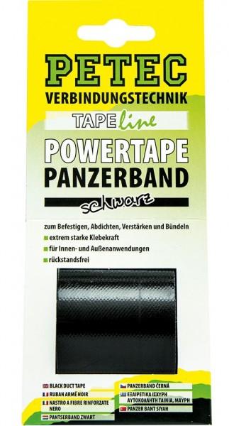 Petec POWER Tape Panzerband 5m schwarz, SB-Karte