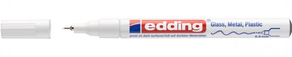 Edding 780 Lackmalstift weiß 0,8mm