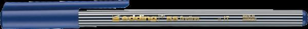 Edding 55 Fineliner stahlblau 0,3mm
