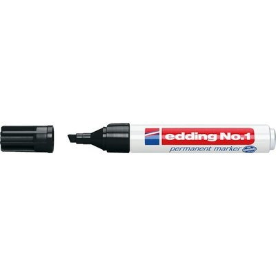 Edding No.1 permanent marker schwarz