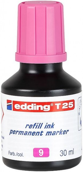 Edding T25 Permanentmarkertusche rosa 30ml
