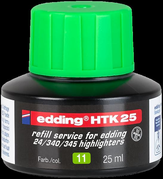 Edding HTK 25 Nachfülltinte Textmarker hellgrün