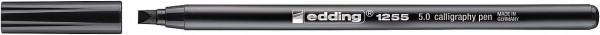 Edding 1255 Kalligrafiemarker schwarz 5mm