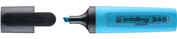 Edding 345 Textmarker hellblau 2-5mm
