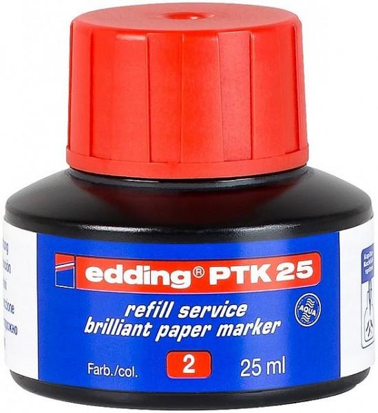Edding PTK 25 Nachfülltinte rot