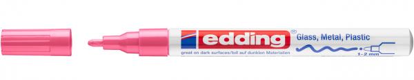 Edding 751 Lackmalstift 009 rosa 1-2mm