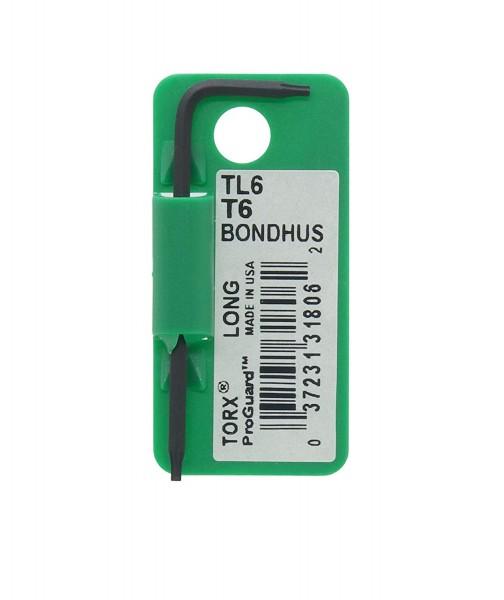 Bondhus Torx Einzelschlüssel lang, T6