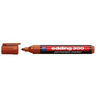 Edding 300 permanent marker A8 braun