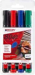 Edding 330/4 S permanent marker A8 set