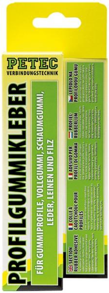 Petec Profilgummikleber 70ml, SB-Karte