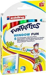 Edding 16/5 Set Funtastics Window Fun